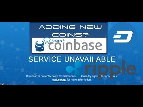 Coinbase adding Dash, Ripple, Stratis? McAfee Shill exposed, LTC vs BTC