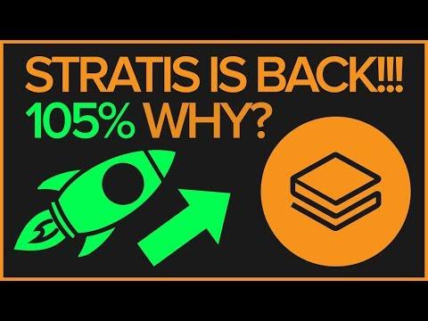 STRATIS BREAKS DOWN TREND – MASTERNODE RELEASE – PREDICTIONS