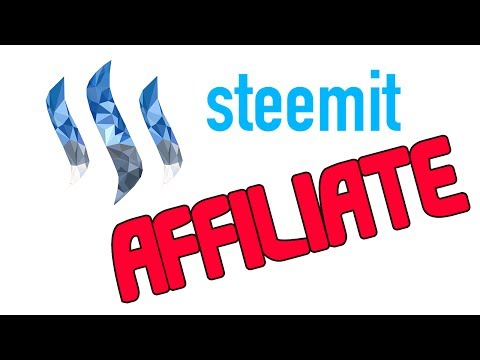 Steemit Needs An AFFILIATE Program!