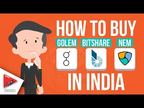 How To Buy Golem, Bitshare & Nem Altcoin in India? BuyUcoin || Hindi