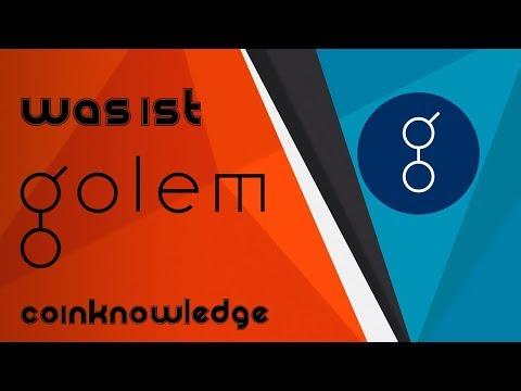 GOLEM (GNT) BALD BEI $6?! | Coinvorstellung #1 | Coinknowledge