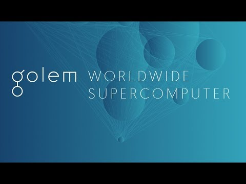 Quick Cryptocurrency Overview: Golem (GNT) –  decentralised supercomputer