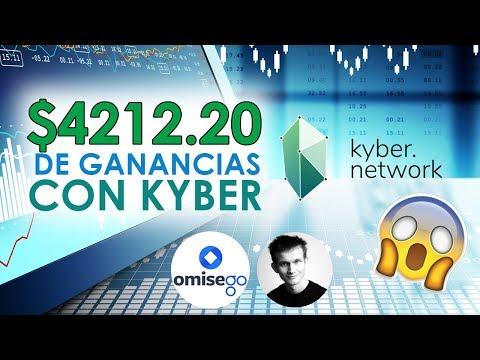 Criptomonedas Mas Rentables: Kyber Network Crystal KNC