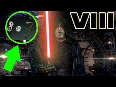 Luke's RED Kyber Crystal Revealed – Star Wars The Last Jedi Explained