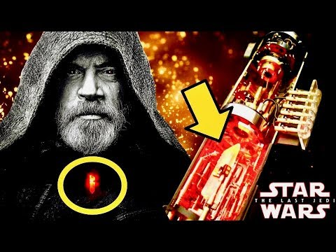 The Origins of Luke's Red Kyber Crystal Necklace and What It REALLY Means – The Last Jedi Explained