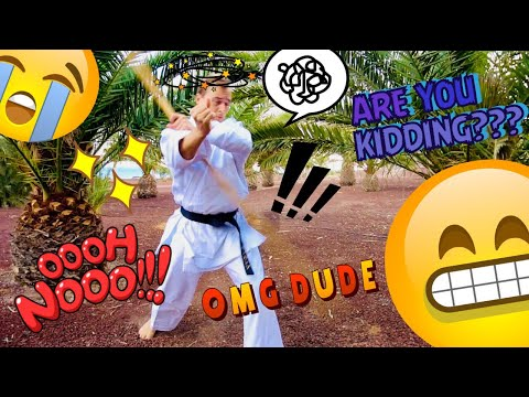 OMG I BROKE MY STAFF | Okinawa Kobudo Bo Kata — Jesse Enkamp