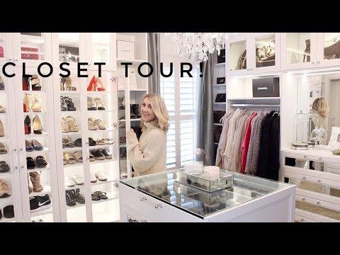 CLOSET TOUR (omg, finally) & ORGANIZATION TIPS