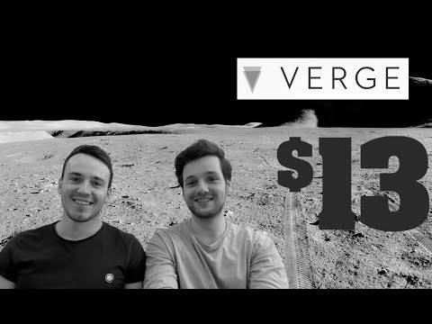VERGE TO $13 IN 2018!? AS EXPLAINED BY @WILDTRADER