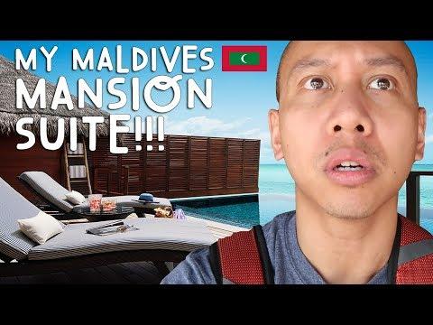 OMG! NEW OCEAN MANSION SUITE TOUR (Maldives) | Vlog #5