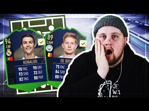 OMG DE BRUYNE TOTY!!! (MITT TOTY) – FIFA 18 SVENSKA