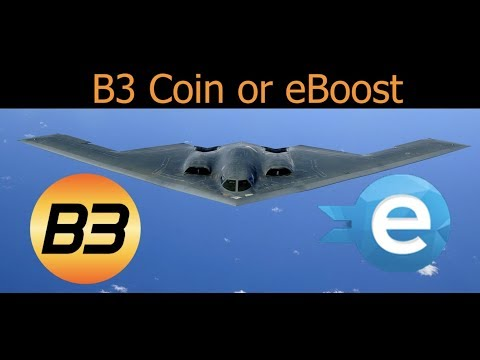 Cryptocurrency Round up eBoost and B3 Coin With Tron Update