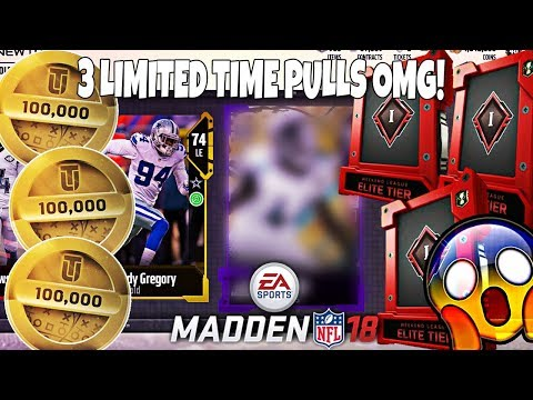 INSANE WEEKEND LEAGUE REWARDS OMG! 3 LIMITED TIME PULLS! Madden 18 Ultimate Team