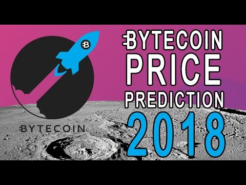 OFFICIAL 2018 BYTECOIN PRICE PREDICTION ( You WONT BELIEVE IT!)