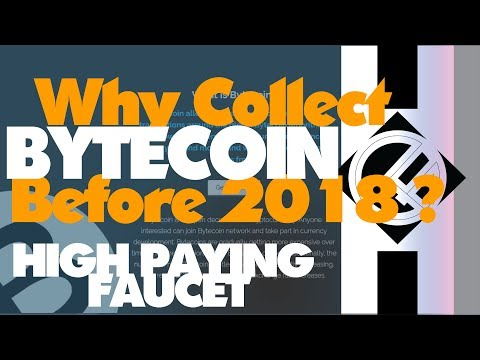 Why Collect Bytecoin Before 2018, Right Now?