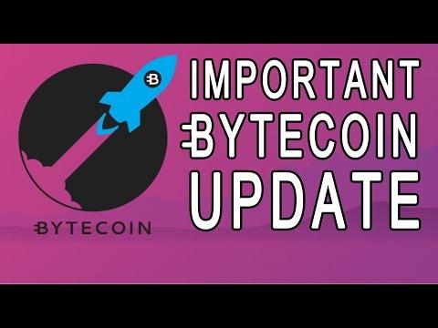 [BCN] IMPORTANT BYTECOIN UPDATE (Poloniex News, Bytepay Update, Bittrex)