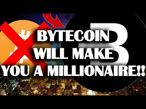 BYTECOIN WILL MAKE YOU A MILLIONAIRE!!