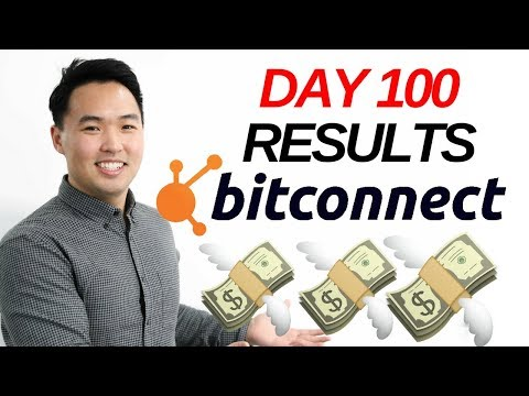 My results after 100 Days of bitconnect 2018 investing