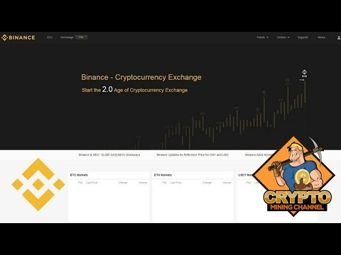 Binance Coin (BNB)  A Winner? I Bought Some On The Binance Cryptocurrency Exchange
