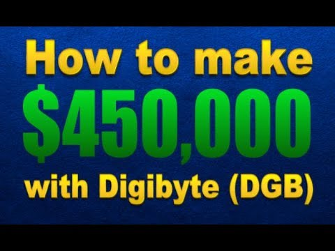 How To Buy Digibyte (DGB) – $450,000 profit when it hits $1 dollar!