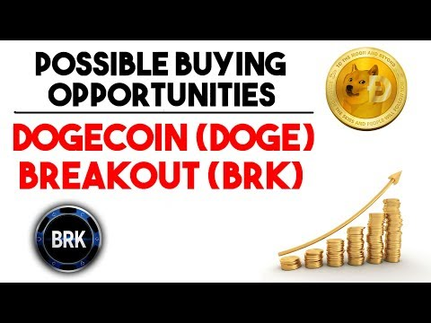 Dogecoin (DOGE) & Breakout (BRK) Price Analysis | Coin Of The Week | Possible Price Surge