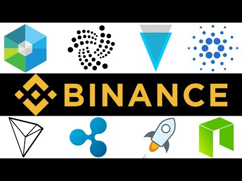 Binance – Buy the BEST ALTCOINS here!