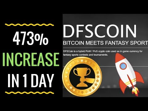 DFS COIN MOONING – GETS 473% INCREASE IN 1 DAY!!!!