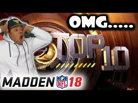 Madden 18 TOP 10 Plays – IMPOSSIBLE TD RUN! OMG…. @JMELLFLO