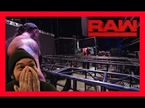 REACTION: OMG!!! BRAUN DESTROYS WWE RAW!!! (January 8th 2018)