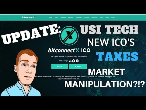 Updates: Market Manipulation?!?! Bitconnect X, USI Tech, Neo Conference, Segwit Adoption Increasing
