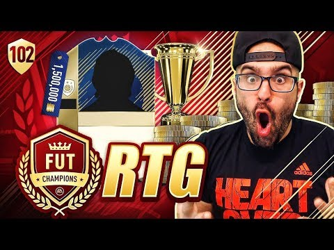 OMG WE BOUGHT A 91 RATED ICON BEAST! FIFA 18 Ultimate Team Road To Fut Champions #102 RTG