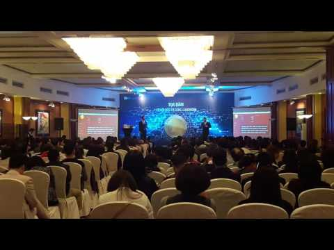 BTCLAND – LANDCOIN – Patrick Schwerdtfeger talk about landcoin in Vietnam