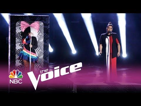 "The Voice 2017 Brooke Simpson and Sia – Finale: ""Titanium"""