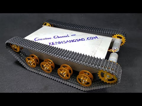 How to make a Metal Rc Tank