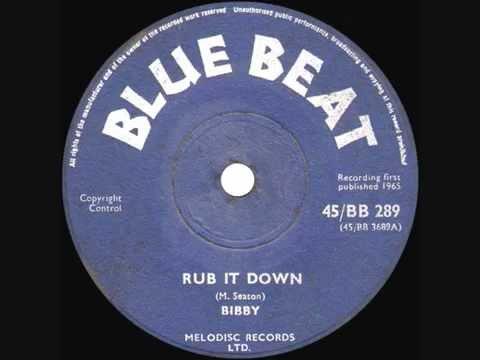 B.B. SEATON (as BIBBY) – 'Rub It Down' – 1965 45rpm