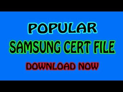 Samsung 1000 cert Qcn file download