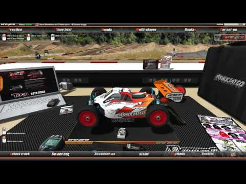 VRC Pro C-NETIC R/C Raceway Gameplay