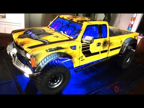 RC ADVENTURES – BUiLDiNG the DUALLY BEE-ST PT 5 – Lighting Install & Ancord Audio System – PG4L