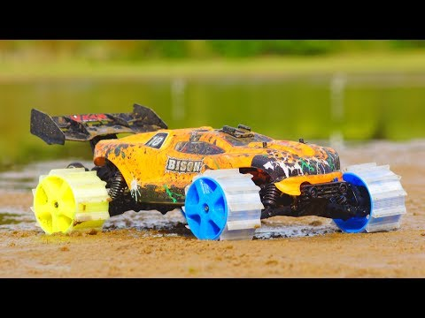 3D Printed RC Car Wheels – Crazy Traction!!!