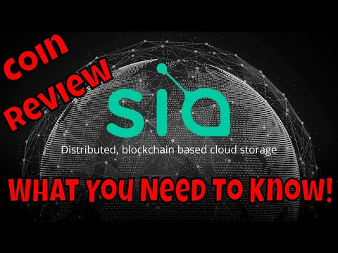 Siacoin Cloud Storage! What You Need To Know! (Coin Review)