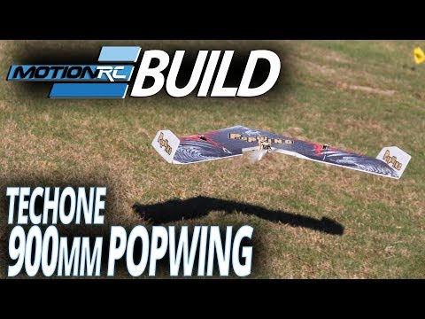 TechOne Popwing 900mm – Build Video – Motion RC