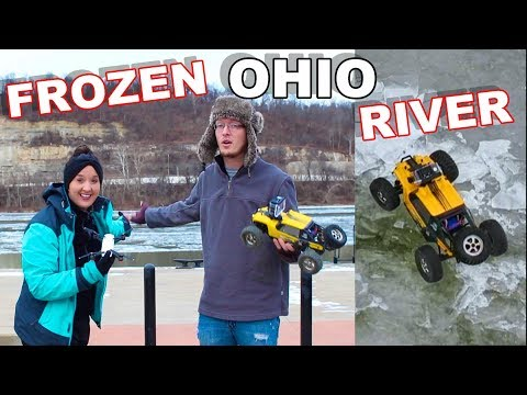 RC Truck Stuck – Frozen Ohio River – TheRcSaylors