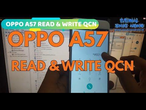 Cara Read & Write File QCN Oppo A57 Menggunakan QPST