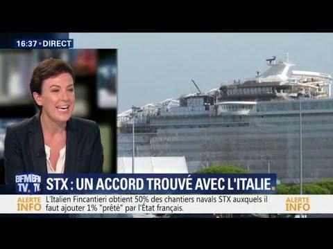 Chantiers navals STX: ce que prévoit l'accord trouvé avec l'Italie