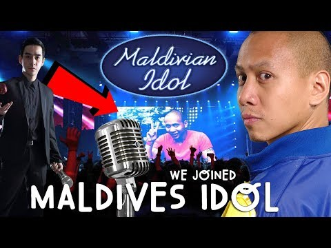 OMG! WE JOINED MALDIVES IDOL COMPETITION! | Vlog #7