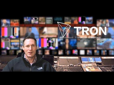 TRON News – January 9th Update #Tronix #TRX