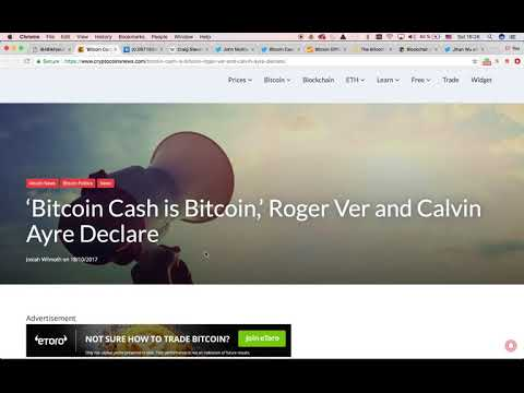 Bitcoin Cash – The true winner in the Segwit Fork?