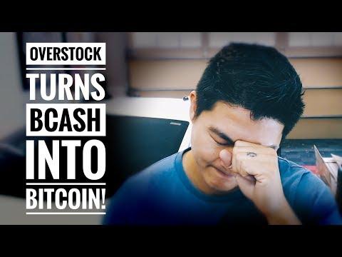 Overstock.com Bug Turns Bitcoin Cash into Bitcoin! – TODAYS WTF!