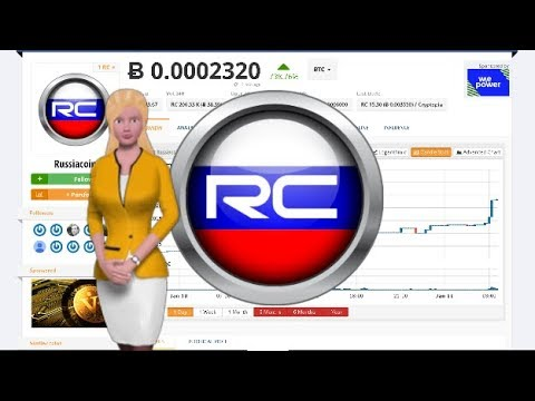 Cryptocurrency Russiacoin $RC Climbed 738% Over the Past 24 Hours