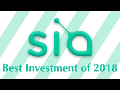 Why Siacoin ($SC) Will Make You Rich in 2018 (Cryptocurrency Video)