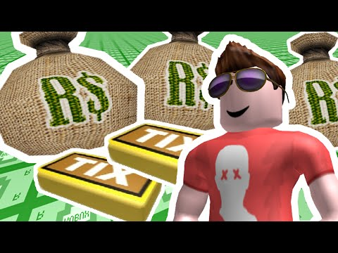 TIX TYCOON #1 – I'M SO RICH | ROBLOX